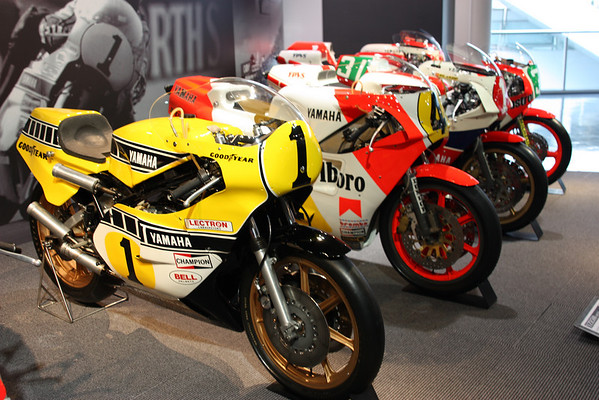 Kenny Roberts and Eddie Lawson's Yamaha YZ500s