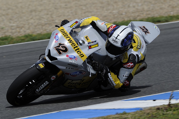 Thomas Luthi at Jerez