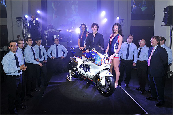 Karel Abraham at the launch of the Cardion AB MotoGP team