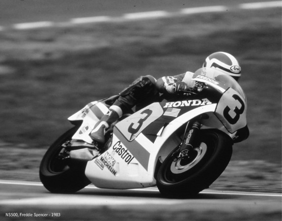 Freddie Spencer, NS500, 1983