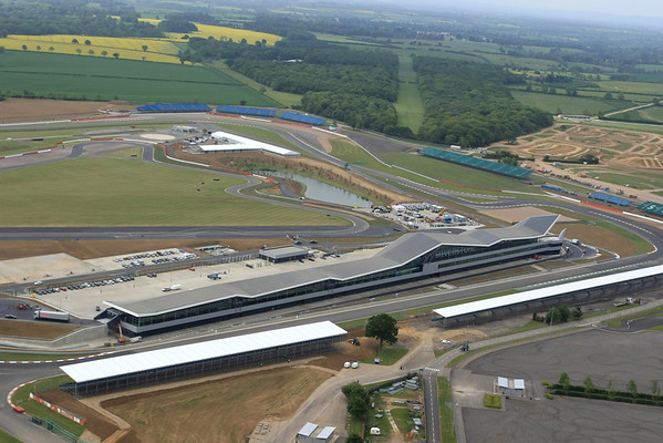 Silverstone Wing from the air