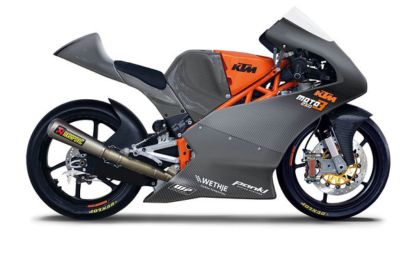 KTM&#039;s 250 GPR Moto3 production racer