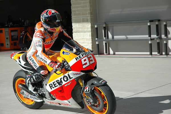 Marquez has both eyes focused squarely on the future.