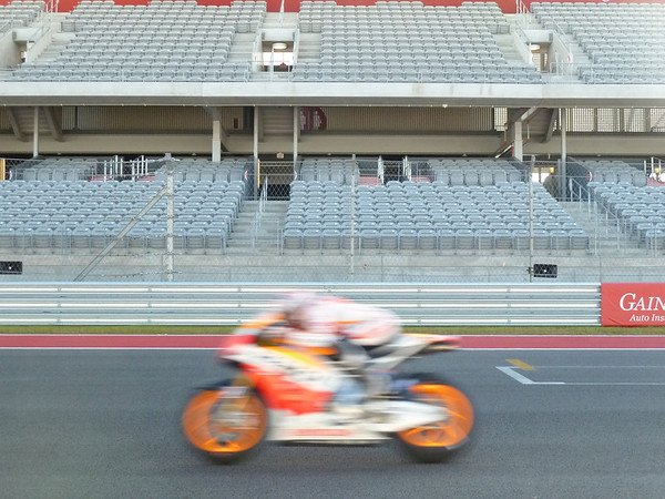 Marquez is the blur that everyon&#039;es chasing here.