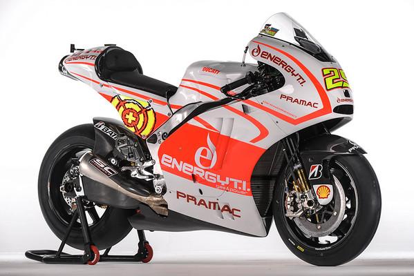 Andrea Iannone's Energy.TI Pramac Ducati
