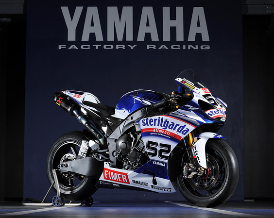 Yamaha 2010 R1 James Toseland