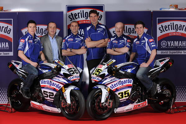 Sterilgarda Yamaha 2010 World Superbike team