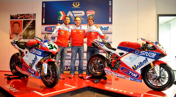The Althea Ducati team