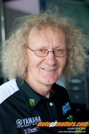 Monster Tech 3 Yamaha crew chief Guy Coulon