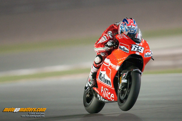 Nicky Hayden, Qatar, Day 1, FP1