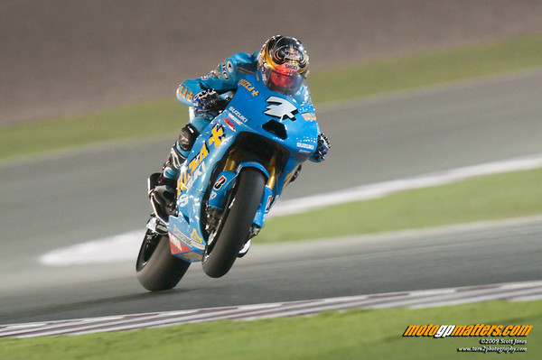 Chris Vermeulen at Qatar, Day 1, FP1