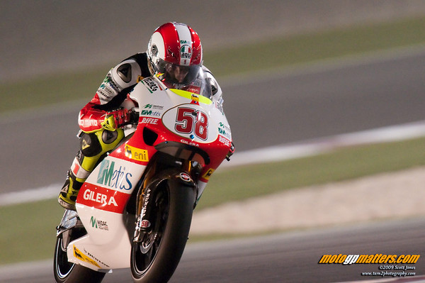 Marco Simoncelli, Qatar, Day 1, FP1