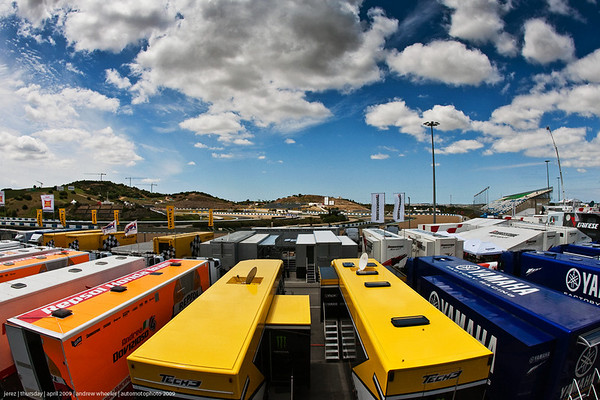 Jerez, MotoGP, Thursday, Paddock, 2009