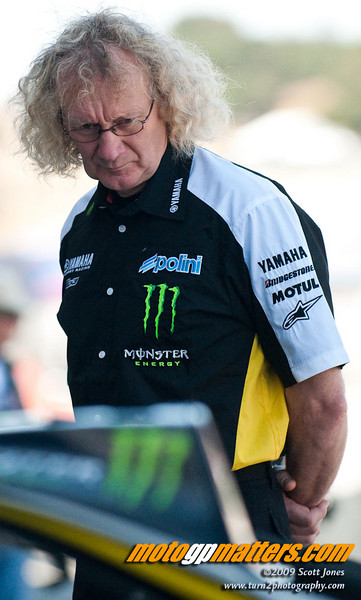 Guy Coulon, Tech 3 Yamaha crew chief for Colin Edwards