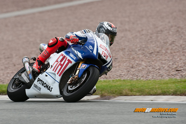Jorge Lorenzo at the Sachsenring MotoGP