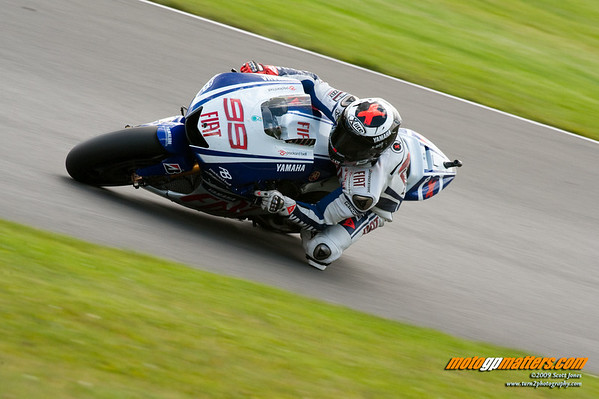 Jorge Lorenzo at Donington
