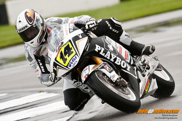 Randy de Puniet at Donington