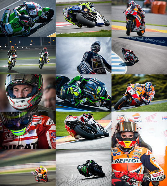 MotoMatters.com 2015 Motorcycle Racing Calendar - Photo Selection