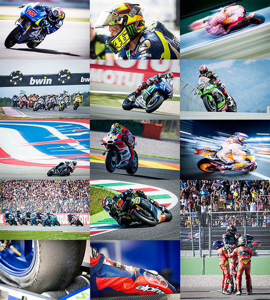 MotoMatters.com 2016 Motorcycle Racing Calendar - Photo Selection
